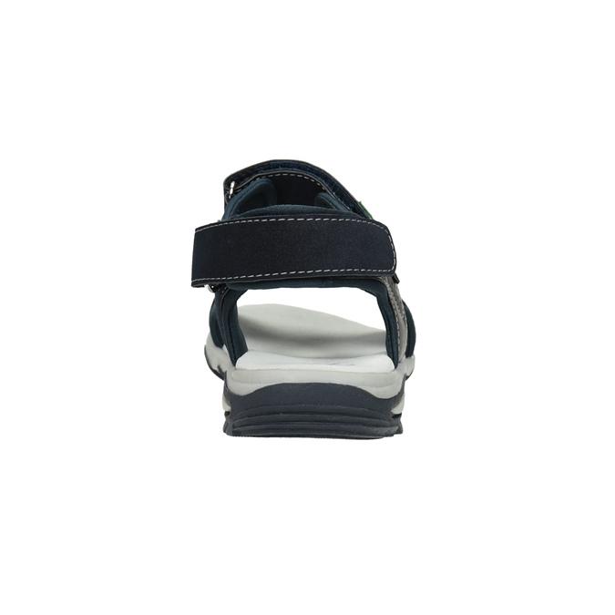Chlapecké sandály ve sportovním stylu mini-b, modrá, 461-9607 - 15