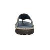 Prošívané kožené pánské žabky bata, šedá, 866-9845 - 15