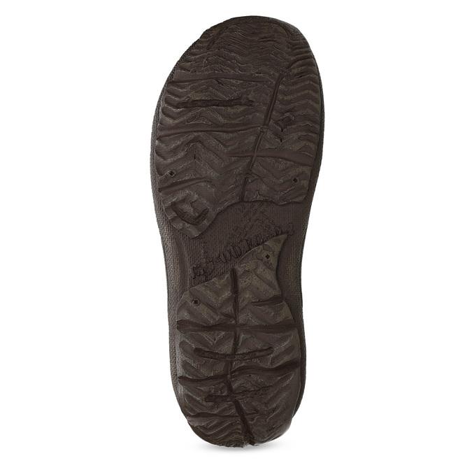 Pánské kožené sandály hnědé bata, hnědá, 866-2622 - 18