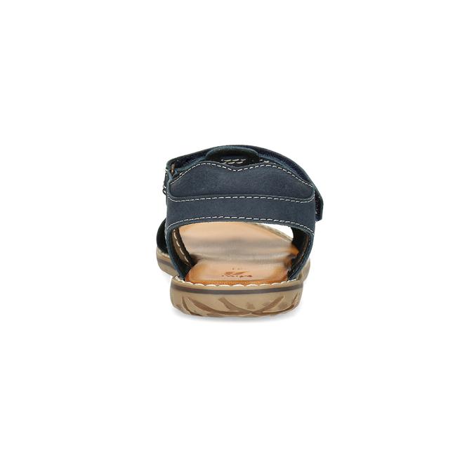 Chlapecké sandály z kůže mini-b, modrá, 366-9610 - 15
