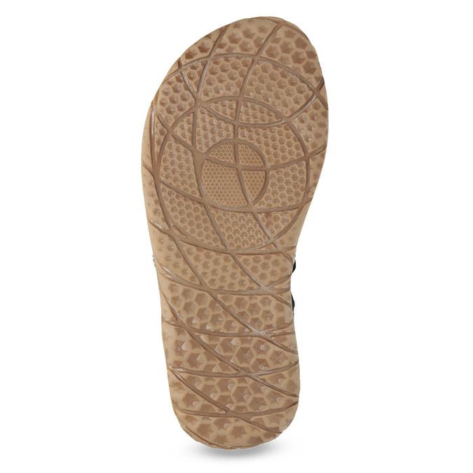 Chlapecké sandály z kůže mini-b, modrá, 366-9610 - 18