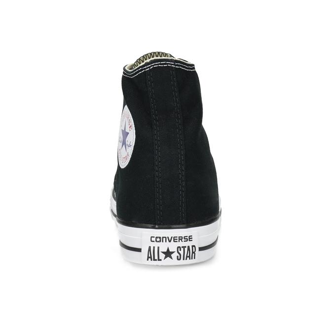 Pánské černo-bílé tenisky s gumovou špicí converse, černá, 889-6278 - 15
