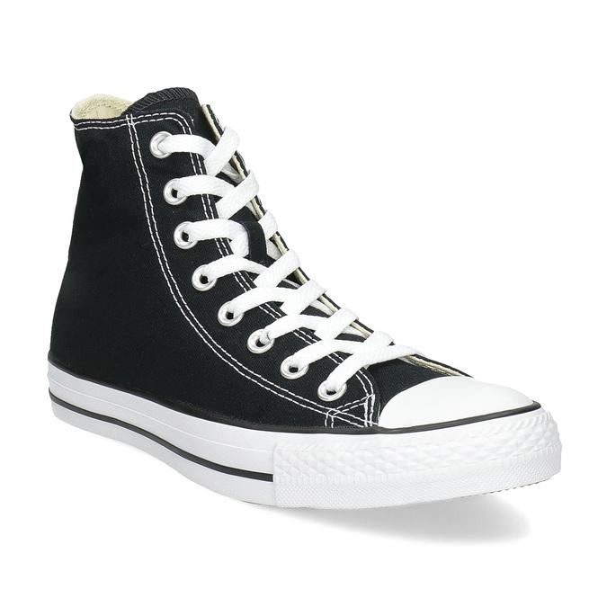 Pánské černo-bílé tenisky s gumovou špicí converse, černá, 889-6278 - 13
