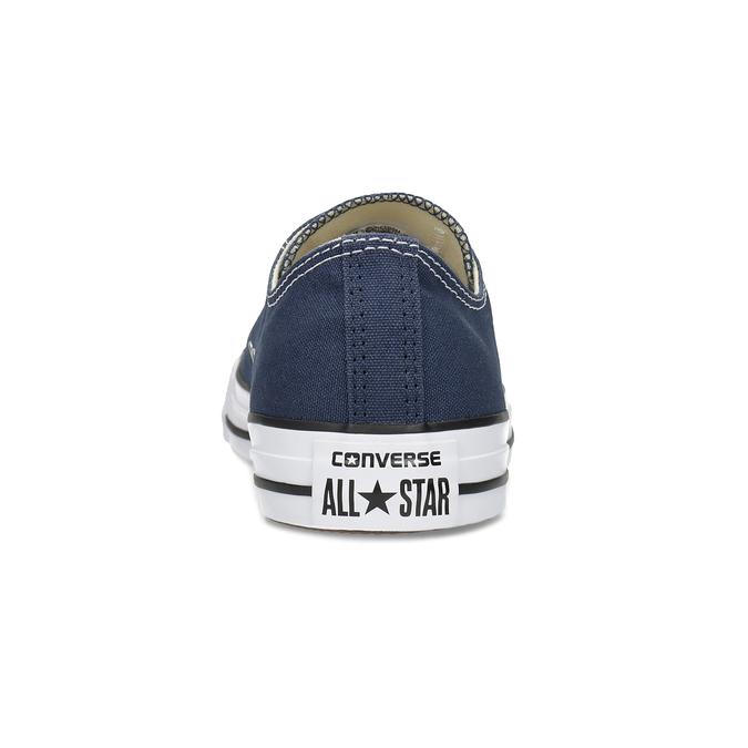 Dámské textilní tenisky s gumovou špičkou converse, modrá, 589-9279 - 15