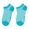 Dámské kotníkové ponožky pruhované modré bata, tyrkysová, modrá, 919-9816 - 26