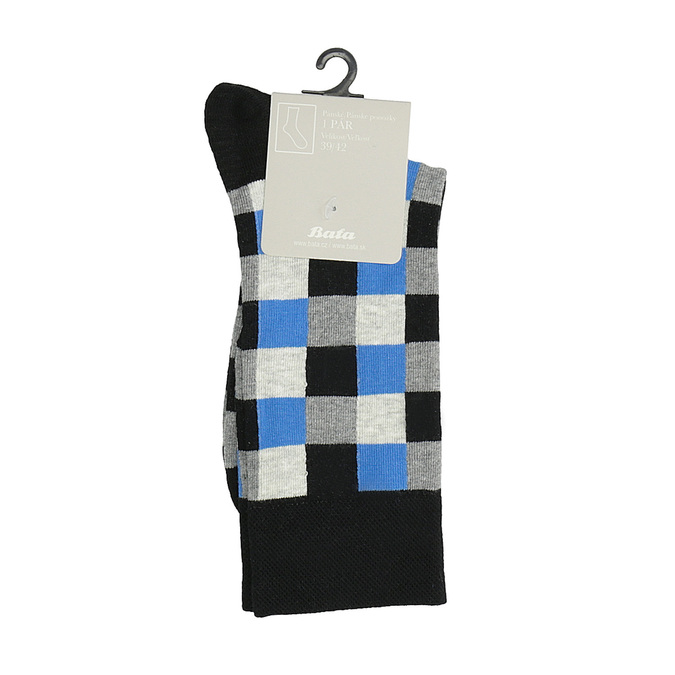 Kostičkované pánské ponožky bata, vícebarevné, 919-9801 - 13