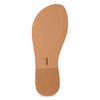 Kožené dívčí sandály s kamínky na nártu mini-b, bílá, 364-1128 - 18