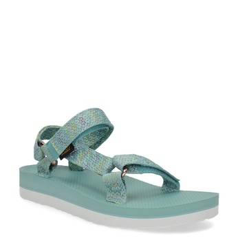 Dámské sandály v Outdoor stylu teva, tyrkysová, 569-7533 - 13