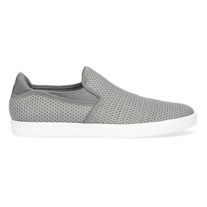 Šedé Slip-on boty pánské bata-red-label, šedá, 839-2602 - 19