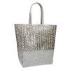 Kabelka se stříbrnými a zlatými pruhy bata, šedá, 969-2215 - 13