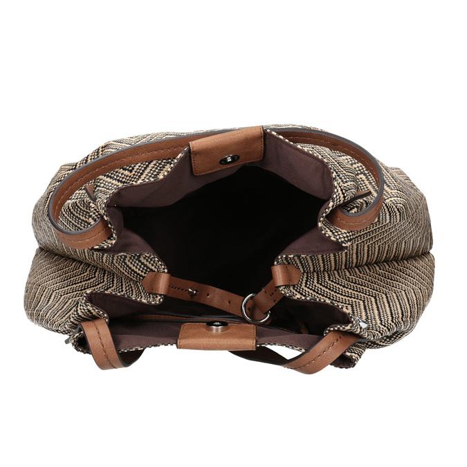 Dámská kabelka se vzorem bata, vícebarevné, 969-6196 - 15