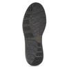 Pánská kožená kotníková obuv s prošitím bata, hnědá, 846-4645 - 18