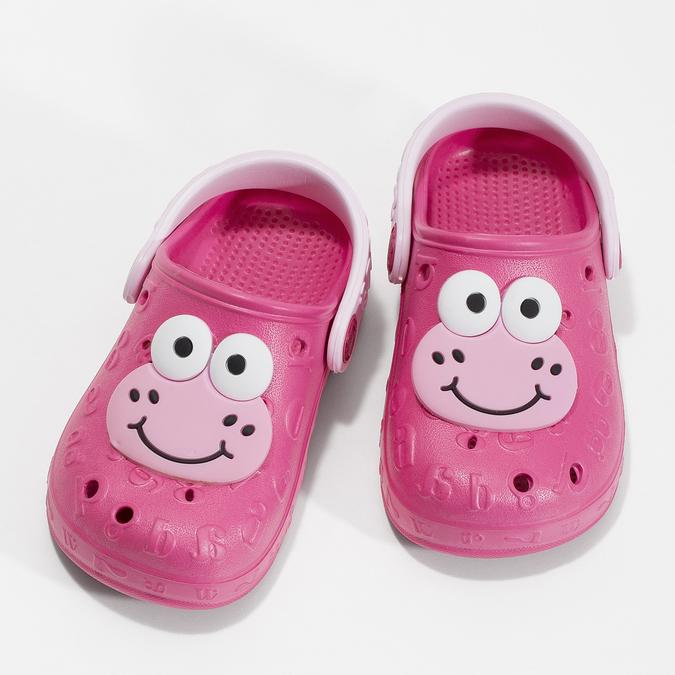 Dívčí sandály se žabičkou růžové coqui, růžová, 272-5651 - 16