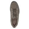 Ležérní kožené tenisky hnědé clarks, hnědá, 826-7025 - 17