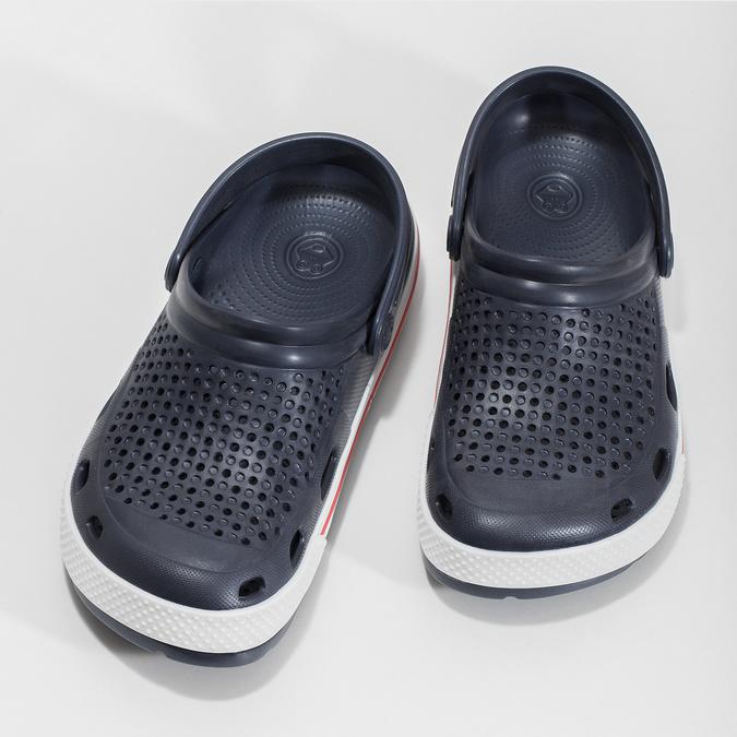 Dámské sandály typu Clogs coqui, modrá, 572-9611 - 16