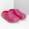 Růžové dámské sandály typu Clogs coqui, růžová, 572-5656 - 26