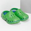 Zelené dětské sandály typu Clogs coqui, zelená, 372-7656 - 26