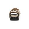 Dámské nazouváky se cvočky zlaté bata, zlatá, 561-8615 - 15