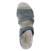 Kožené sandály v Outdoor stylu modré weinbrenner, modrá, 566-9634 - 17
