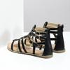 Dámské černo-zlaté sandály bata, černá, 561-6620 - 16
