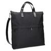 Černá kabelka s krátkými uchy vagabond, černá, 969-6081 - 13