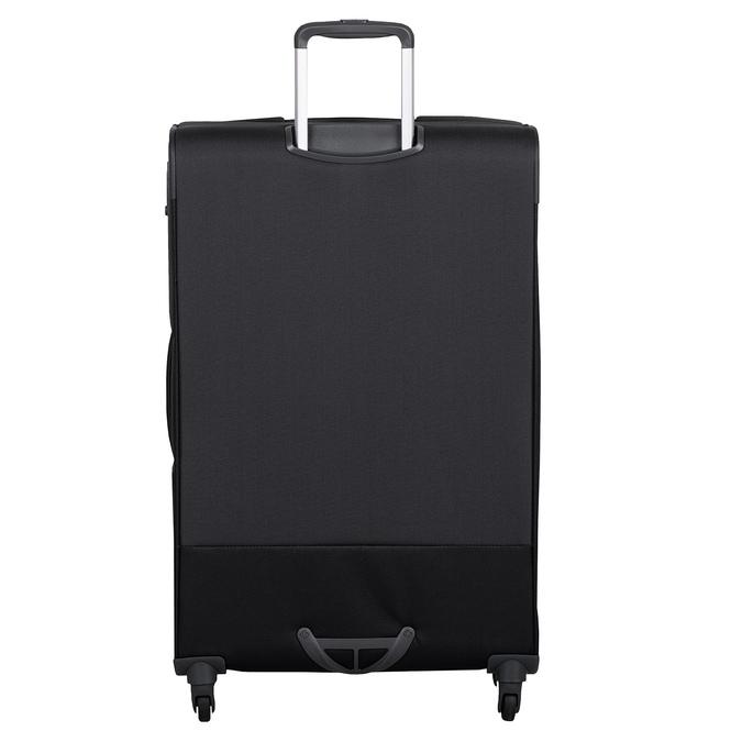 Černý kufr na kolečkách textilní samsonite, černá, 960-6041 - 26