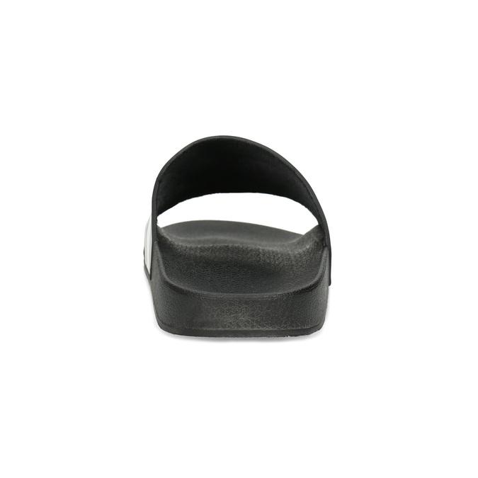 Pánské nazouváky černo-bílé bata, černá, 861-1601 - 15