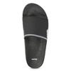 Jednoduché černé pánské nazouváky bata, černá, 861-6602 - 17