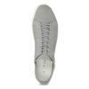 Pánské kožené tenisky šedé vagabond, šedá, 826-2020 - 17