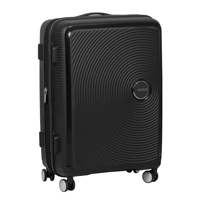 Černý skořepinový kufr na kolečkách american-tourister, černá, 960-6614 - 13