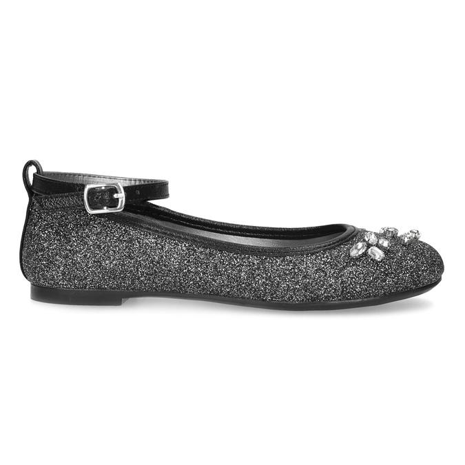 Dívčí baleríny se třpytkami mini-b, stříbrná, 329-6294 - 19