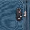 Tyrkysový textilní kufr na kolečkách roncato, modrá, 969-9720 - 15