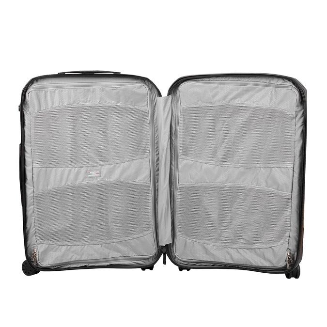 Malý skořepinový kufr na kolečkách roncato, černá, 960-9728 - 17