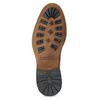 Pánské kožené Chelsea hnědé bata, hnědá, 826-3502 - 18