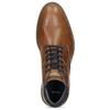 Kotníčková kožená obuv pánská hnědá bata, hnědá, 826-3505 - 17
