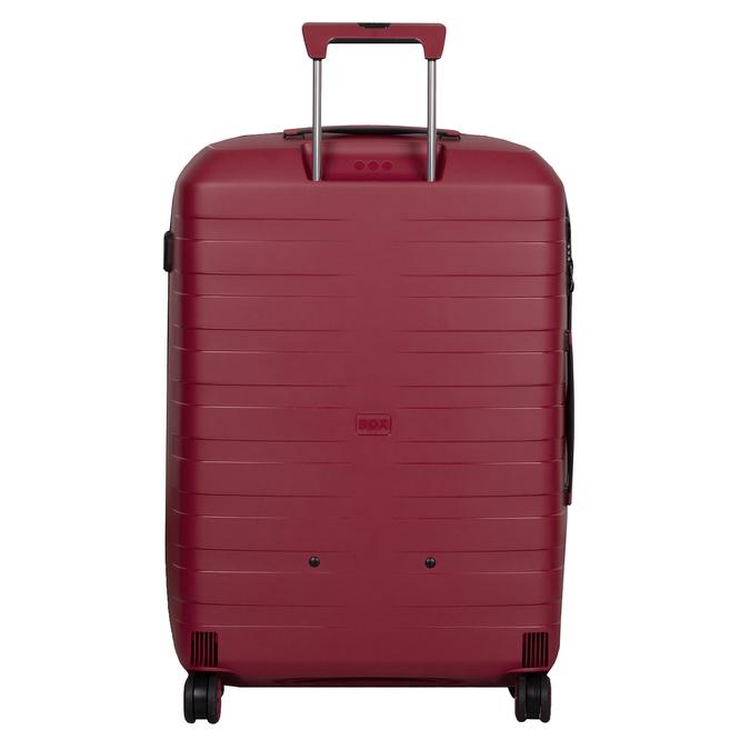 Velký červený kufr na kolečkách roncato, červená, 960-5727 - 26