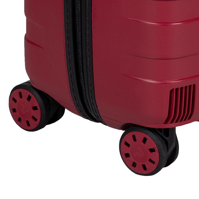 Velký červený kufr na kolečkách roncato, červená, 960-5727 - 16