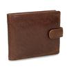 Pánská kožená peněženka hnědá bata, hnědá, 944-3202 - 13
