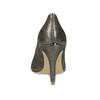 Zlaté kožené lodičky na jehlovém podpatku insolia, zlatá, 726-8657 - 15