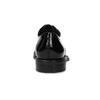 Kožené dámské lakované polobotky vagabond, černá, 528-6004 - 15