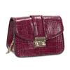 Vínová Crossbody kabelka s řetízkem bata, červená, 961-5869 - 13