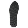 Pánské kožené tenisky se zateplením bata, černá, 846-6646 - 18