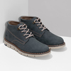 Pánská kožená kotníčková modrá obuv weinbrenner, modrá, 846-9658 - 26