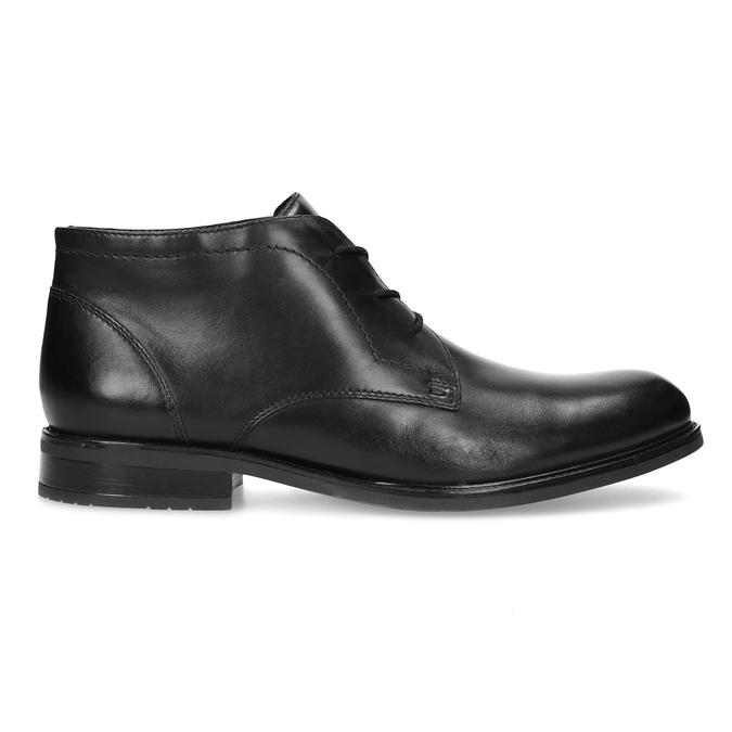 Kožená pánská kotníčková obuv bata, černá, 824-6893 - 19