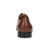 Hnědé kožené pánské polobotky bata, hnědá, 826-3406 - 15