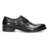 Pánské kožené Monk shoes černé bata, černá, 824-6632 - 19