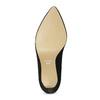 Kotníčkové dámské kozačky na jehlovém podpatku bata, černá, 799-6620 - 18