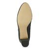 Šedá dámská kotníčková obuv s elastickou patou bata, šedá, 799-2625 - 18