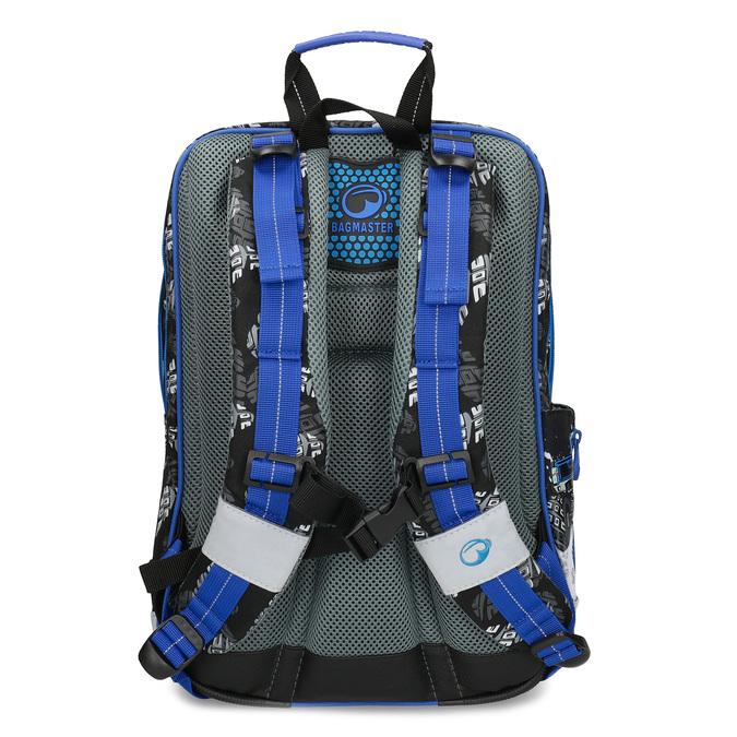 Školní batoh Monster Truck bagmaster, modrá, 969-9713 - 16