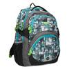 Školní batoh šedo-modrý bagmaster, zelená, 969-7717 - 13